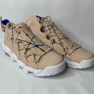 Nike Air More Money Particle Beige Size 9 / 10.5